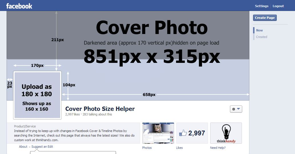 facebook cover page size - 1000×438