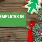 Connective Asset Christmas Templates