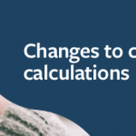 Changes to credit score calculations